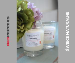 Organiczne świece zapachowe